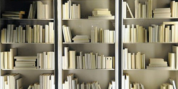 all-white-bookshelf