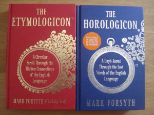 Forsythe first gave us The Etymologicon and followed up quickly with The Horologicon.