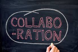 collaboration black board